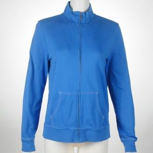 🦋Kim Rogers - Zip Up Sweater - Size - M